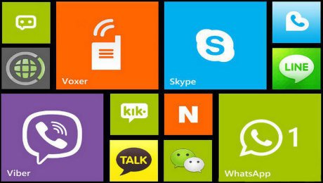 Online communication apps